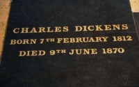 Charles Dickens Gravemarker