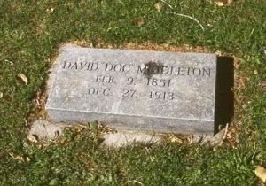 Doc Middleton's Gravestone
