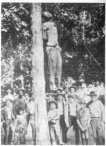 An Alabama Lynching: picture from Gutenberg.org