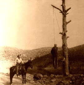 Old West Hanging