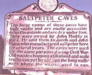Saltpeter Caves