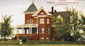 William Jennings Bryan House - Lincoln NE