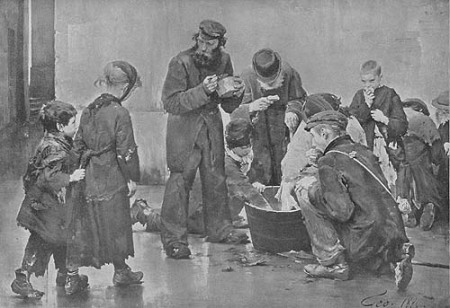 The Beggars' Breakfast by Jean Geoffrey