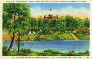 Fort Knox, Vincennes, Indiana