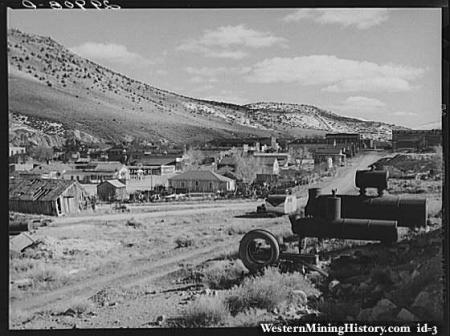 Eureka, Nevada (image from www.westernmininghistory.com)