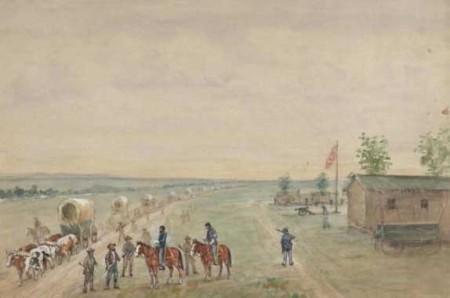 Fort Kearny (image from http://contentdm.lib.byu.edu)