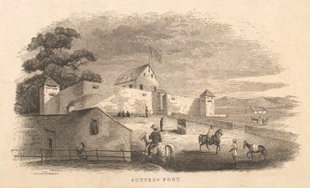 Sutter's Fort (image from www.fourth-millennium.net)