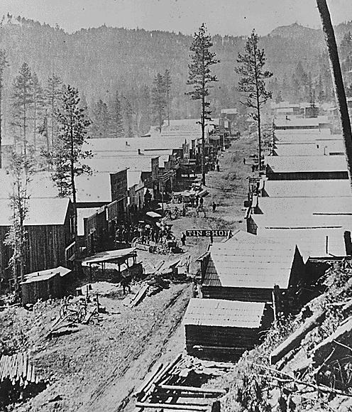 gold rush pictures. Gold Rush Town (Image from