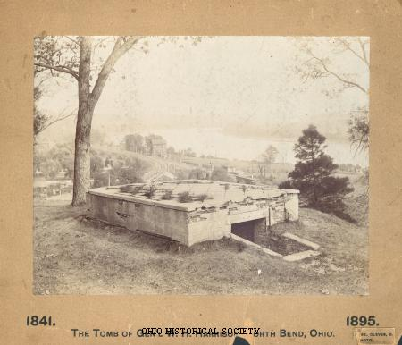 Wm Henry Harrison Tomb (image from www.ohiohistorycentral.org)
