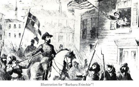 "Illustration for ""Barbara Friechie"""