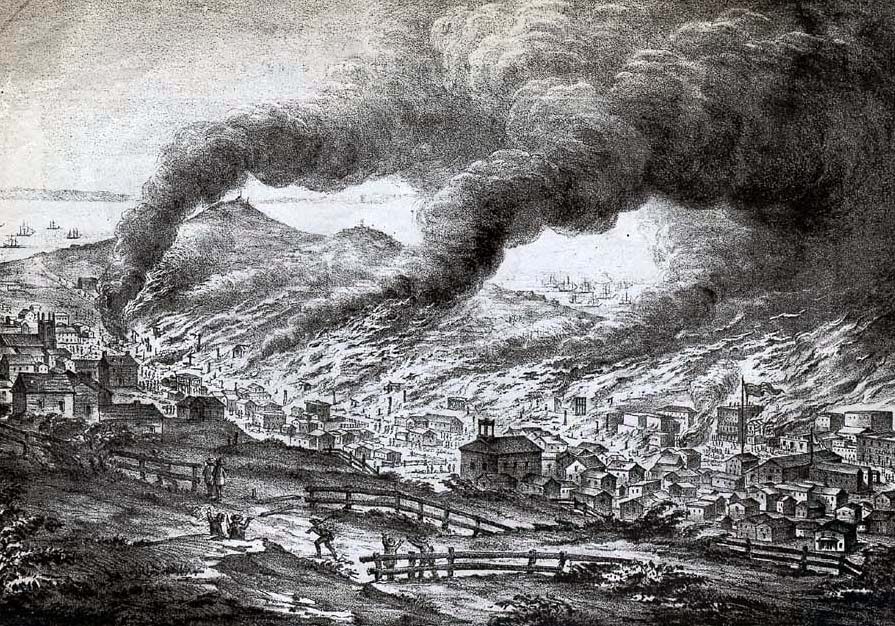 SAN FRANCISCO FIRE: June 14, 1850 « YesterYear Once More