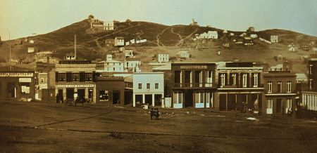 Portsmouth Square, San Francisco, CA 1851 (Image from Wikimedia)