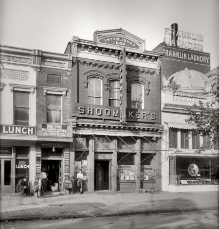 Shoomaker's - Washington D.C. (Image from www.shorpy.com)