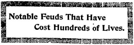 notable feuds 1899