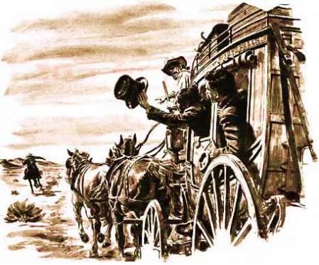 Pony Express Wagon (Image from www.slu.edu)