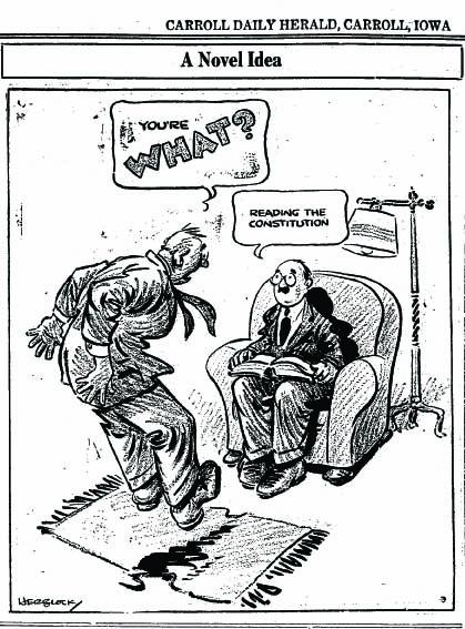 1936 Politcal Cartoon