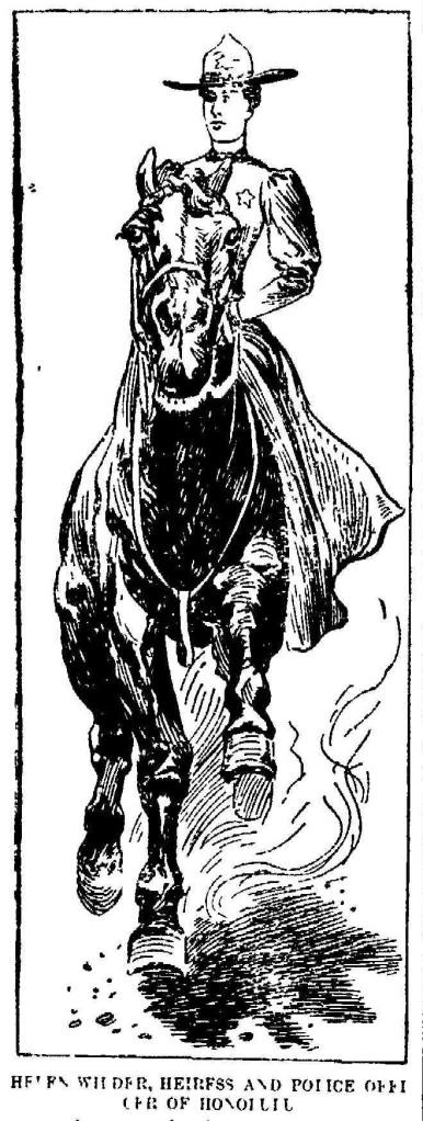 Helen  Wilder 1899 pic horse2