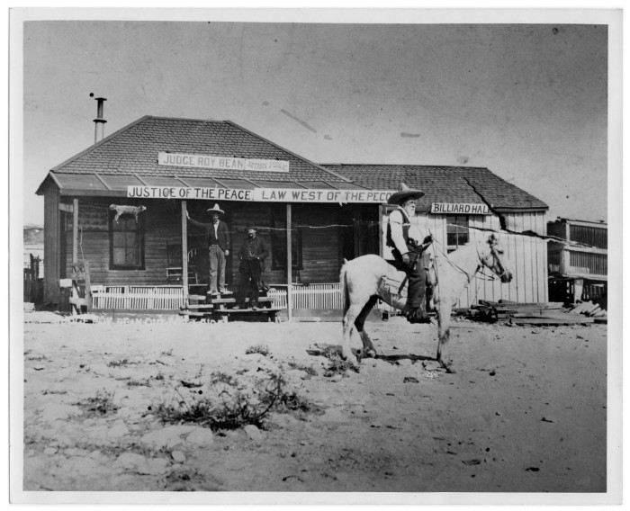 Judge Roy Bean The Law West Of The Pecos Yesteryear