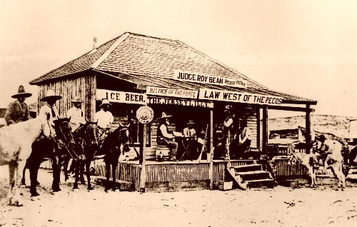 Judge Roy Bean: The Law West of The Pecos « YesterYear Once More