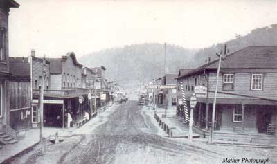 Petroleum Centre - Washington St. - 1868 (Image from www.petroleumhistory.org)