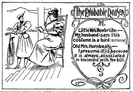 Probable Reason 1897