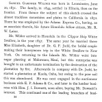 Samuel G. Wilder Biography