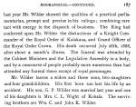 SG WILDER187
