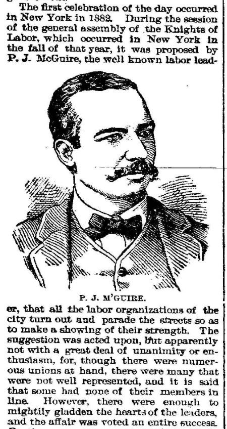P.J. McGuire - 1896