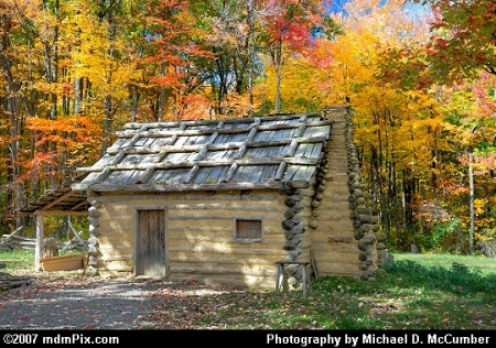 Log Cabin (Image from http://photographs.mccumber.us)