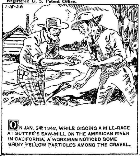 Sutter's Sawmill - January 1848
