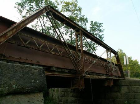 Plank Road Bridge ( Crawford Co., PA built 1895)