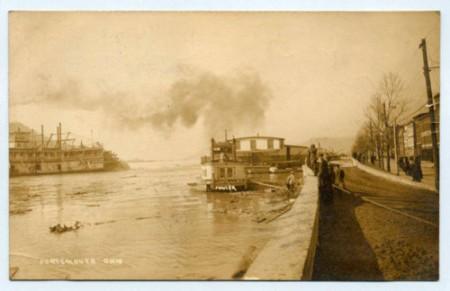 River Scene - Portsmouth, Ohio