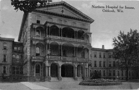 Norther Hospital-Wisconsin (Image from www.rootsweb.ancestry.com)
