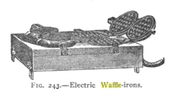 First Electric Iron ~ Yesteryear once more
