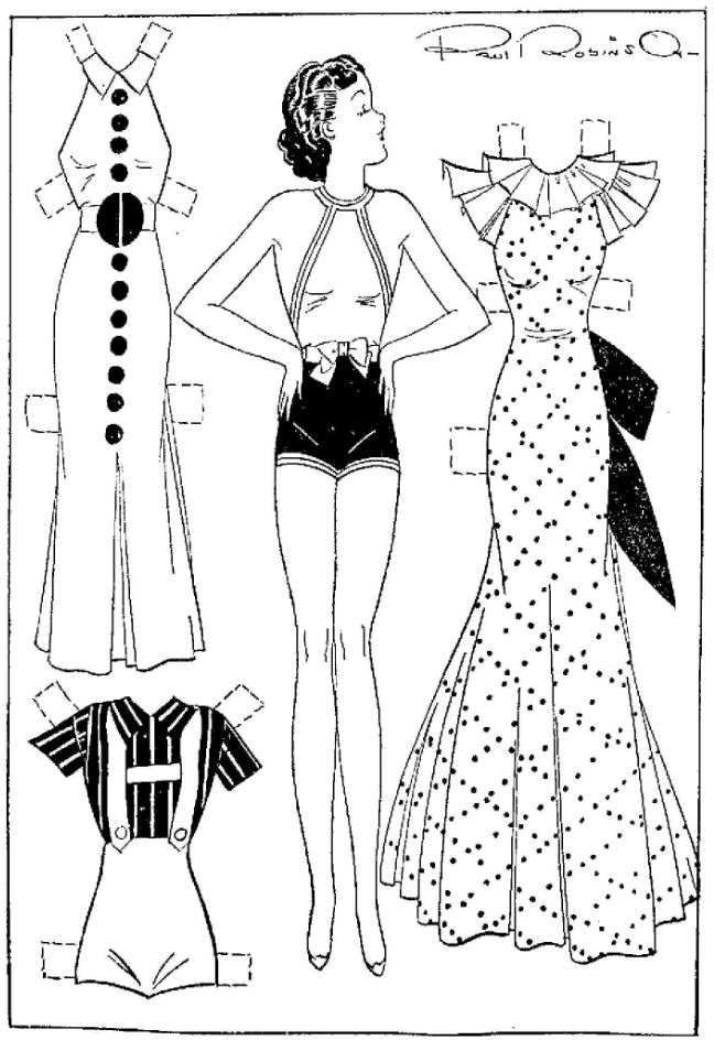 etta kett final fashions for your paper doll cut outs
