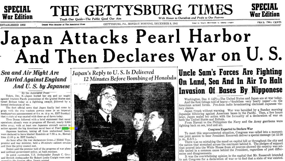 Pearl Harbor: A Day of Infamy (5/5)