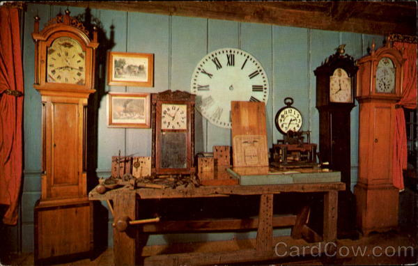 Clock Poetry Yesteryear Once More