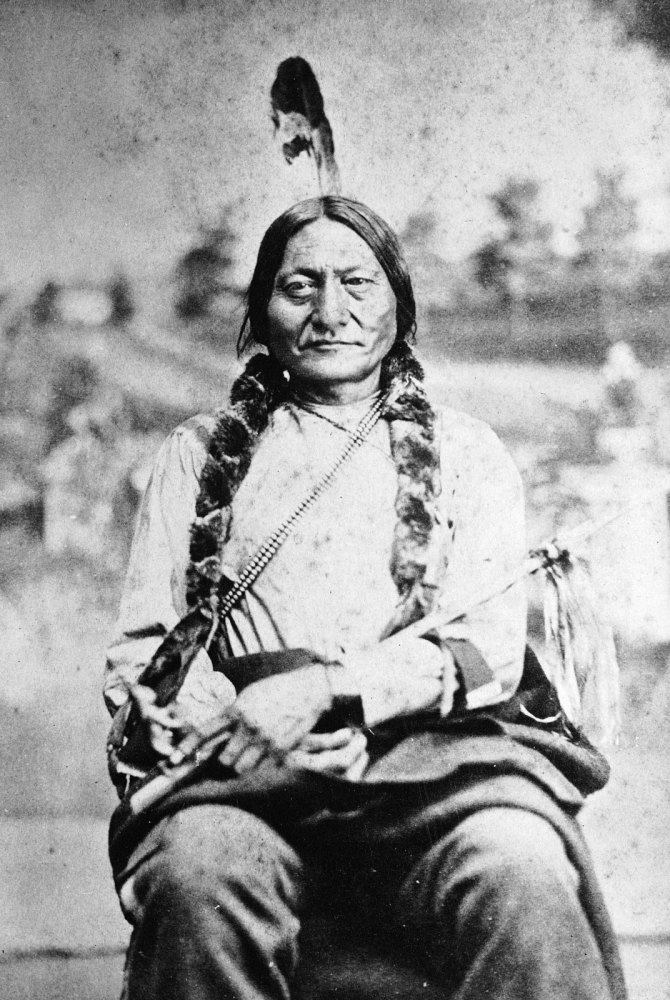 Sitting Bull, Great Chief of the Sioux (1/4)