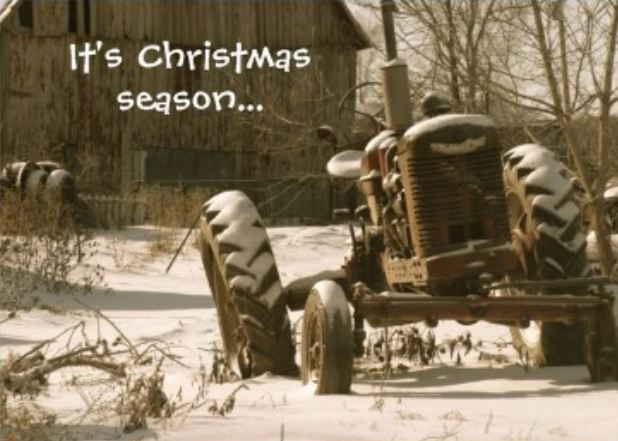 Christmas Shopping on the Farm   YesterYear Once More