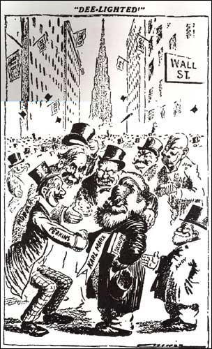Image result for BAnkers surround Karl Marx. St. Louis Dispatch