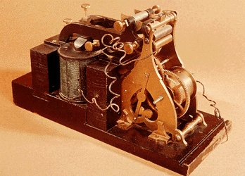 in 1844 samuel morse demonstrated the Find and save ideas about samuel morse telegraph on pinterest samuel morse's telegraph system is demonstrated for the first time this 1844 telegraph key by.