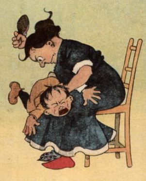 a discussion on spanking as a method for punishing children Alternatives to spanking spanking teaches children that violence is instead of punishing them for misbehaving, teach them.