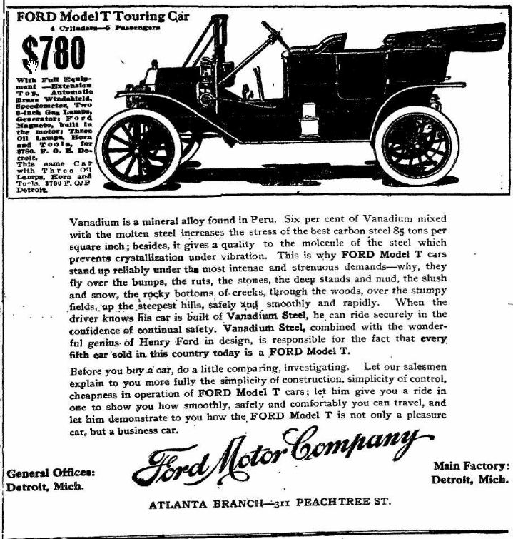 henery ford essay The figure of henry ford is too prominent for every american to simply say that he influenced the automobile industry in the united states much it is not enoug.