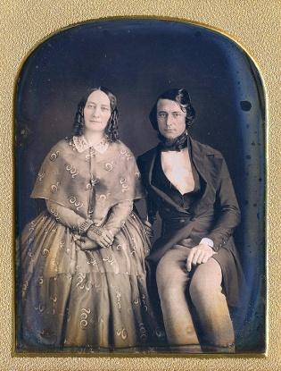 1840s couple