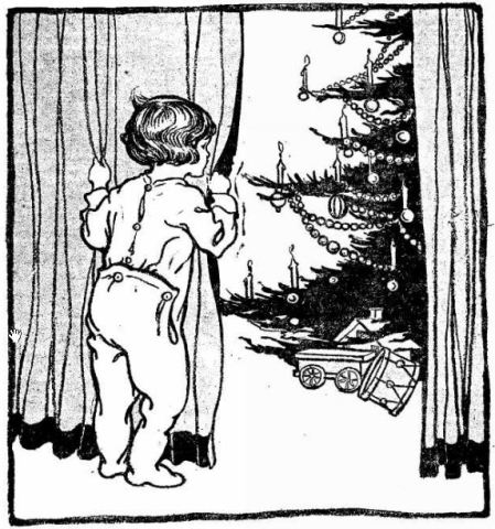 Christmas Tree - child - Appleton Post Crescent WI 22 Dec 1922