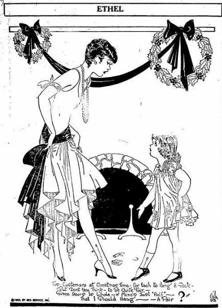Ethel - Christmas Stockings - Appleton Post Crescent WI 24 Dec 1928
