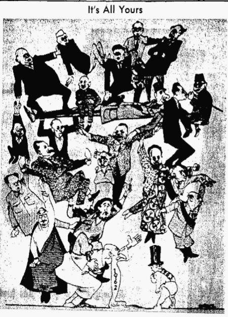 Happy New Year - Albuquerque Tribune NM 01 Jan 1963