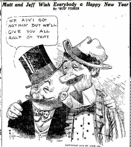 Happy New Year - Nevada State Journal -Reno NV - 01 JAN 1913