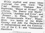 Kieffer – Book Seminar – The Frederick Post MD 12 May 1952
