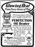 Oil Heater – Perfection – The News – Frederick MD 24 Dec1907
